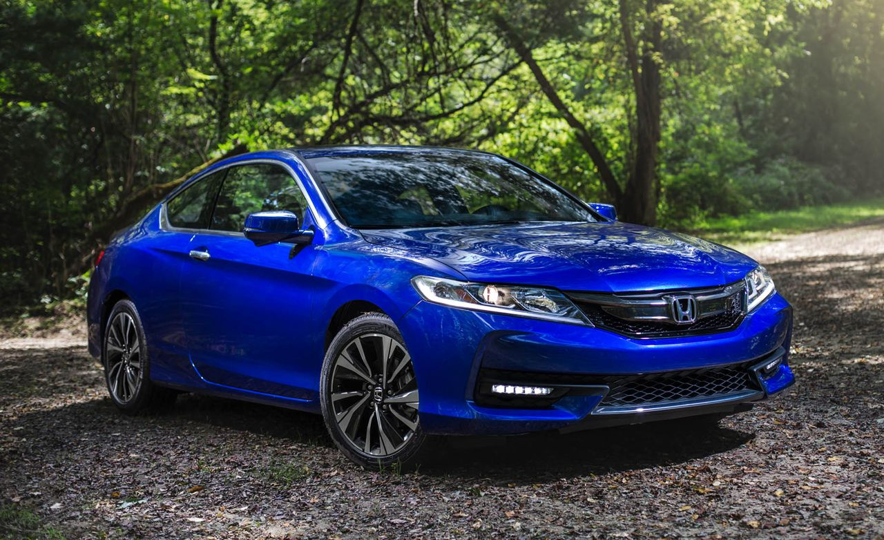 2016 Honda Accord Coupe V 6 Manual