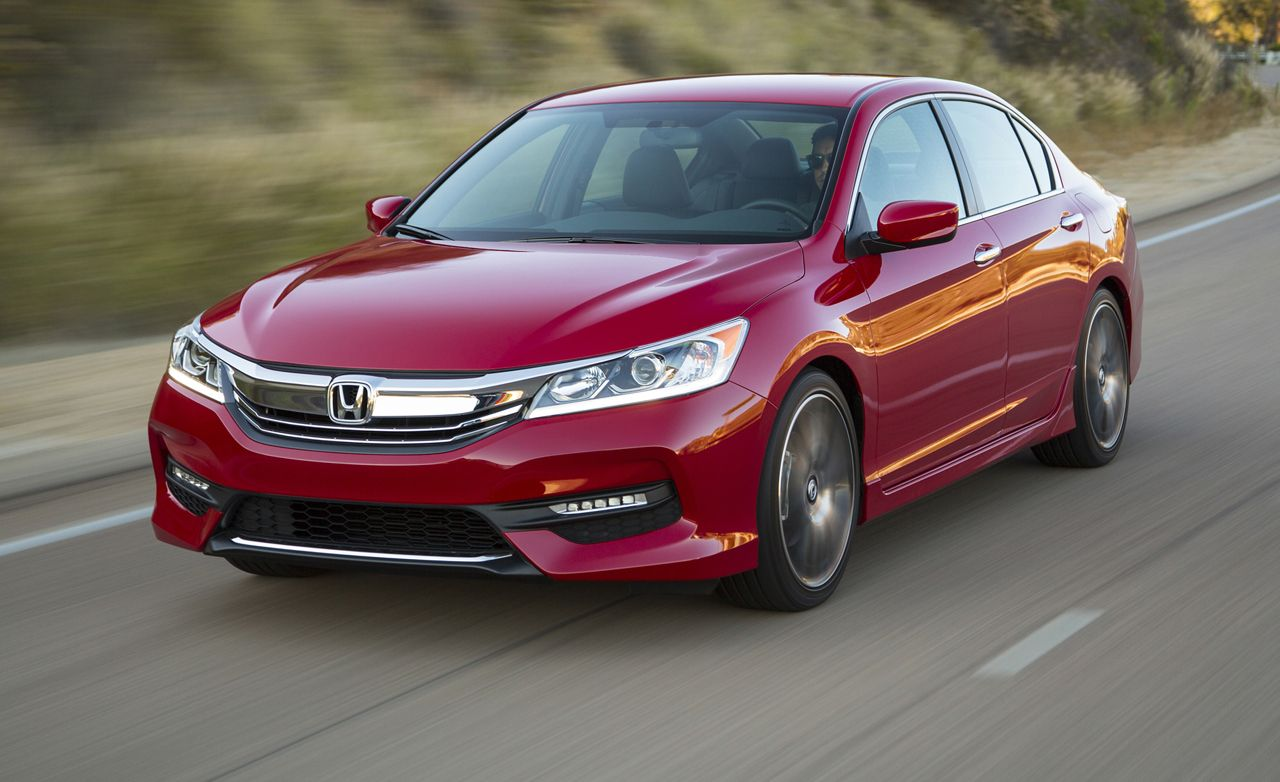 2016 Honda Accord Sedan First Drive Review Car And Driver