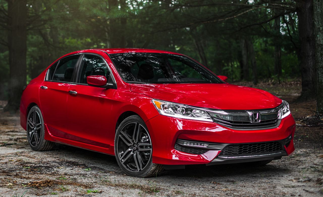 2016 Honda Accord Sport Manual