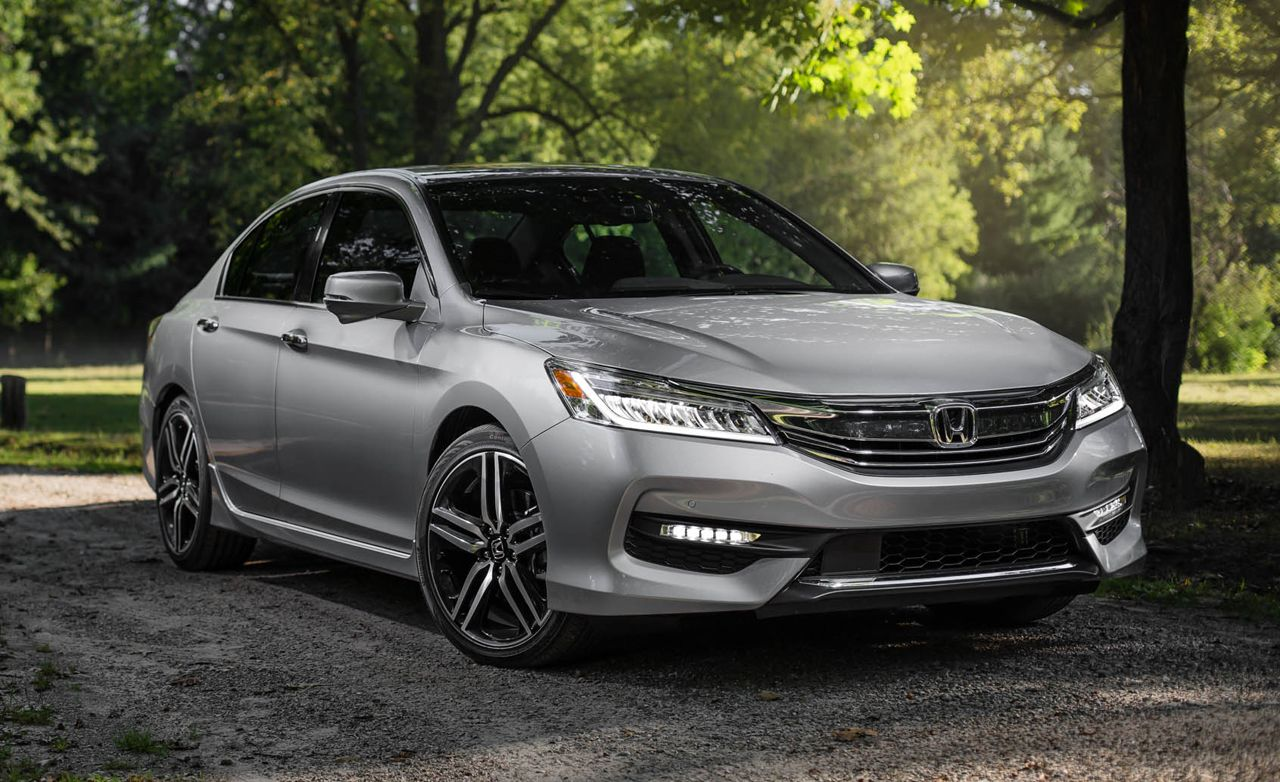 luxury car in honda  2016 Honda Accord V-6 Sedan Test | Review | Car and Driver
