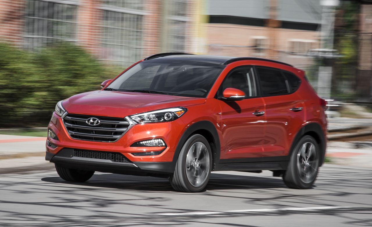 2016 Hyundai Tucson 1 6t Test Review Car And Driver