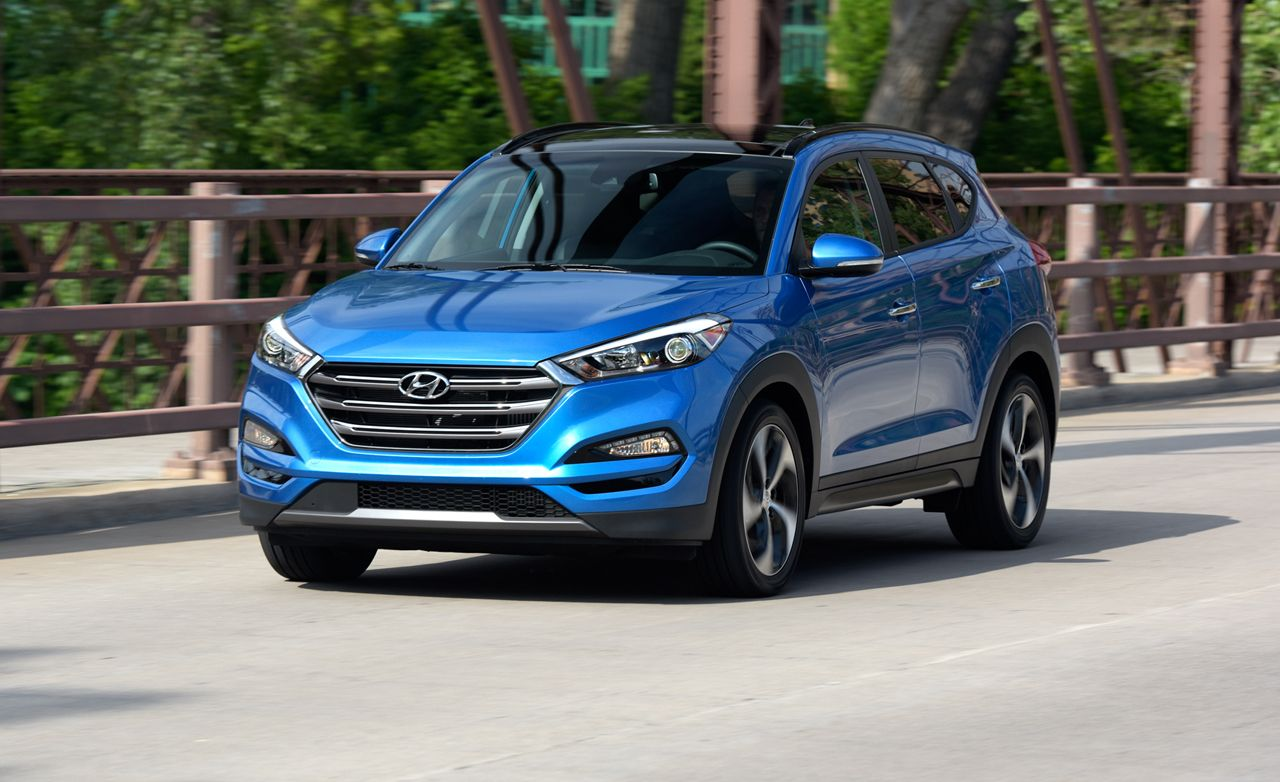 2016 hyundai tucson first drive review car and driver. Black Bedroom Furniture Sets. Home Design Ideas