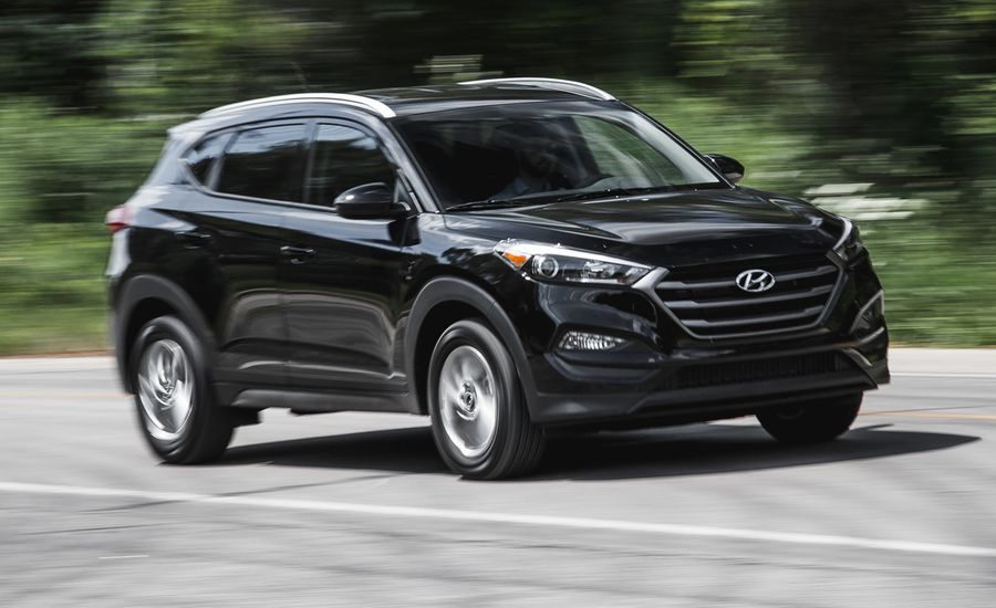 2016 hyundai tucson se 2 0l fwd first drive review car. Black Bedroom Furniture Sets. Home Design Ideas