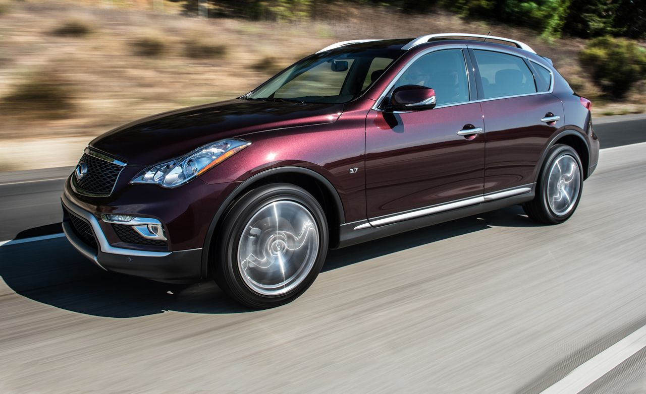 2016 Infiniti Qx50 First Drive Review Car And Driver