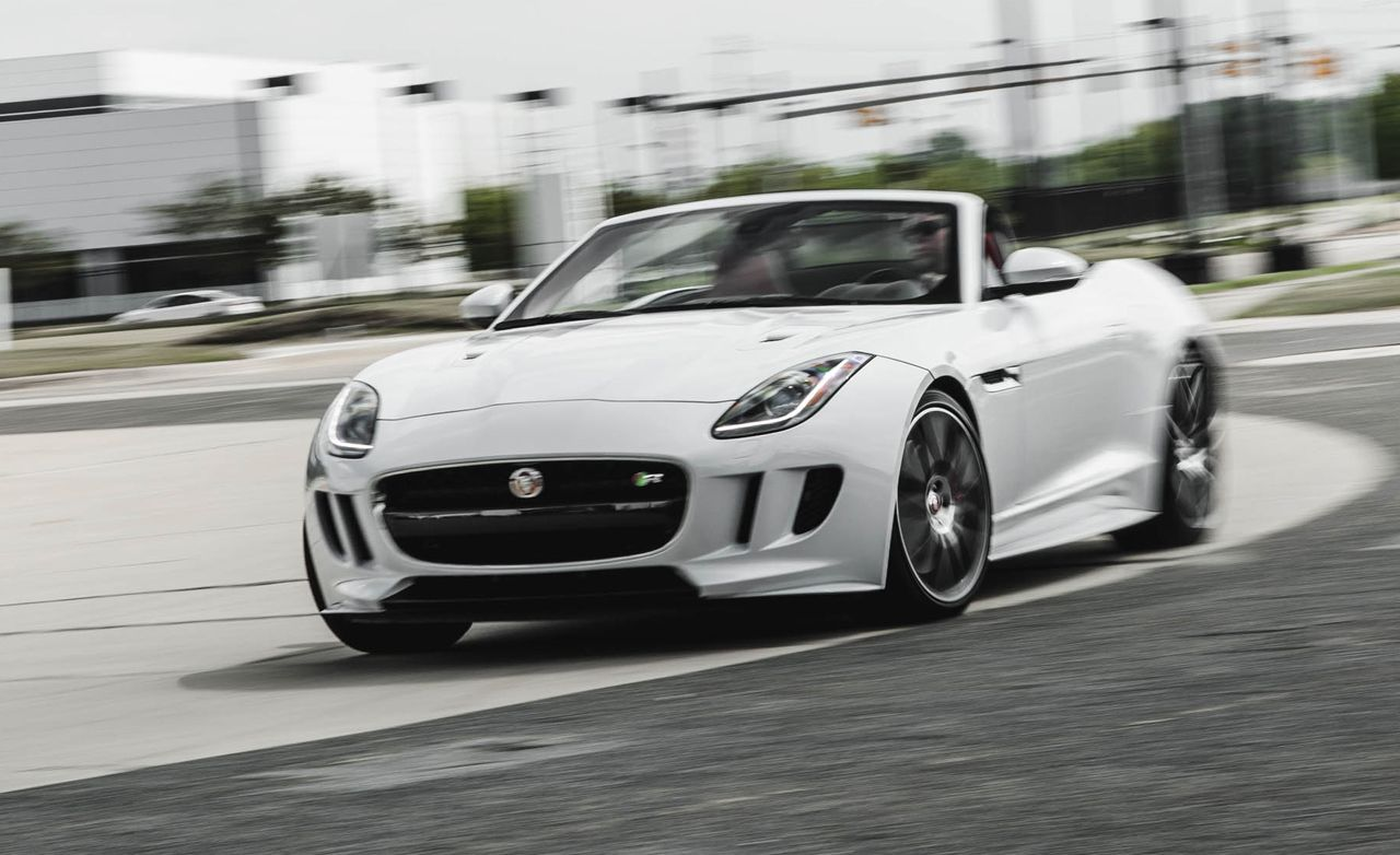 2016 jaguar f type r convertible test review car and. Black Bedroom Furniture Sets. Home Design Ideas