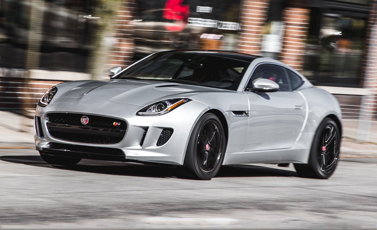 2016 Jaguar F Type S Coupe Manual