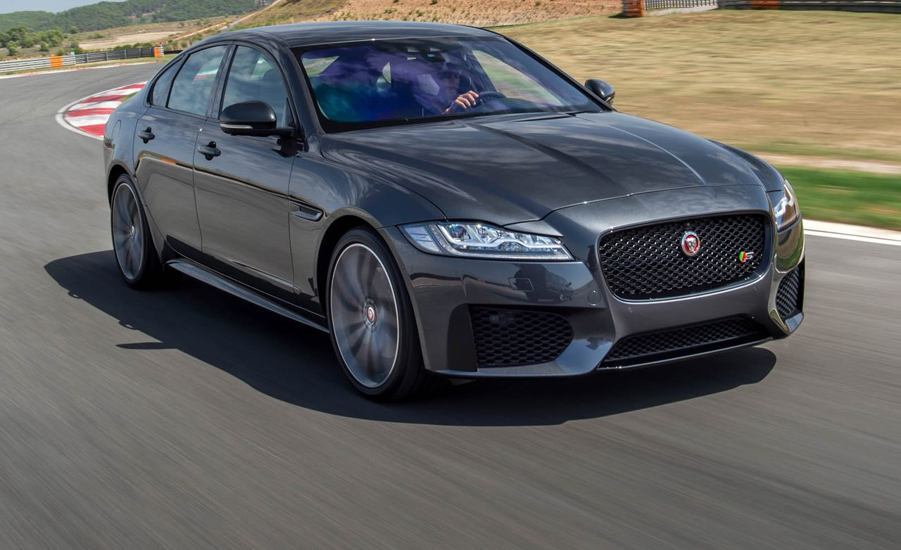 2016 jaguar xf first drive review car and driver. Black Bedroom Furniture Sets. Home Design Ideas