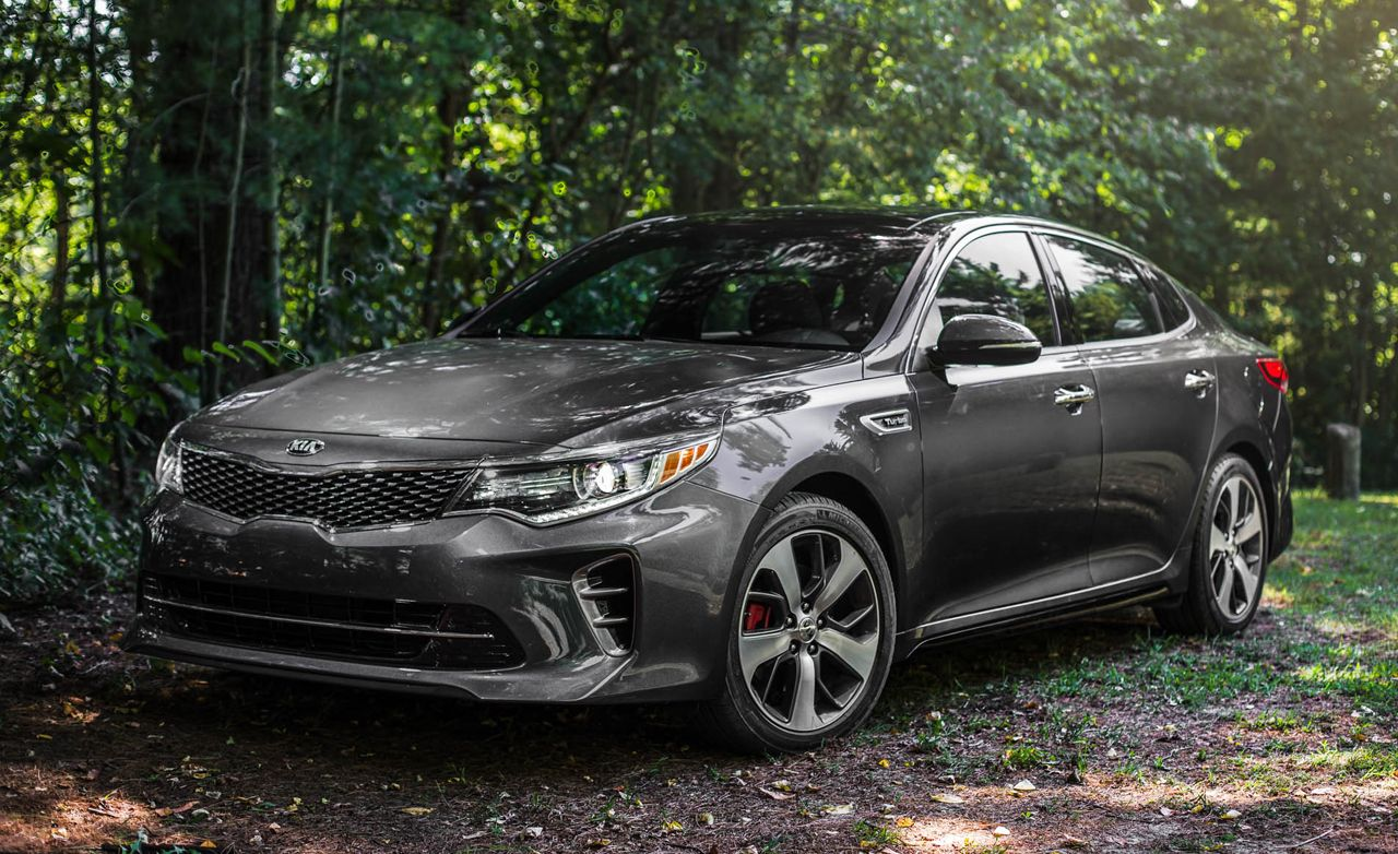 2016 kia optima sx 2 0t test review car and driver. Black Bedroom Furniture Sets. Home Design Ideas