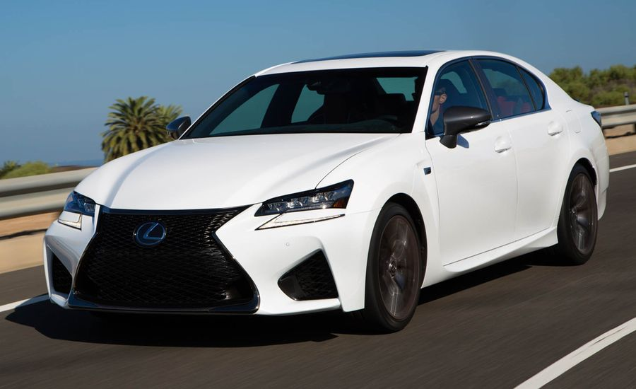 2016 Lexus Gs F First Drive Review Car And Driver
