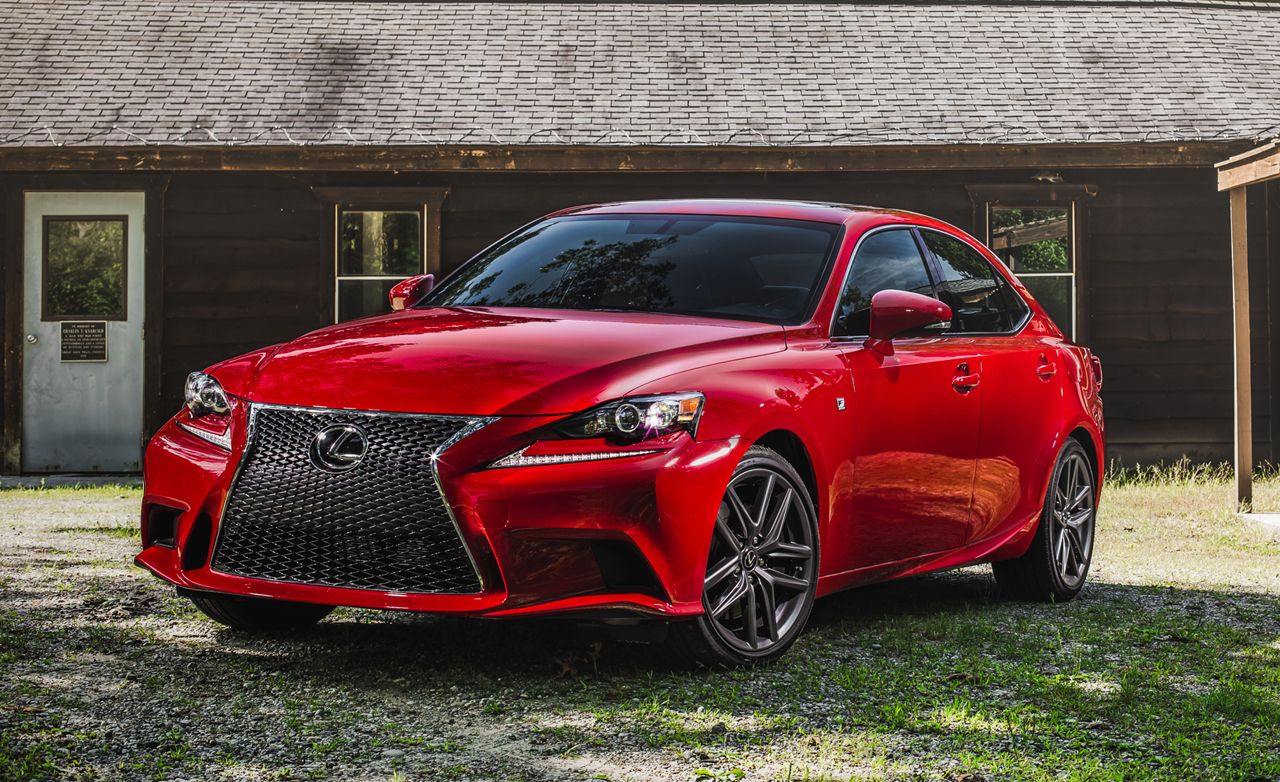 2016 Lexus Is200t F Sport Test Review Car And Driver