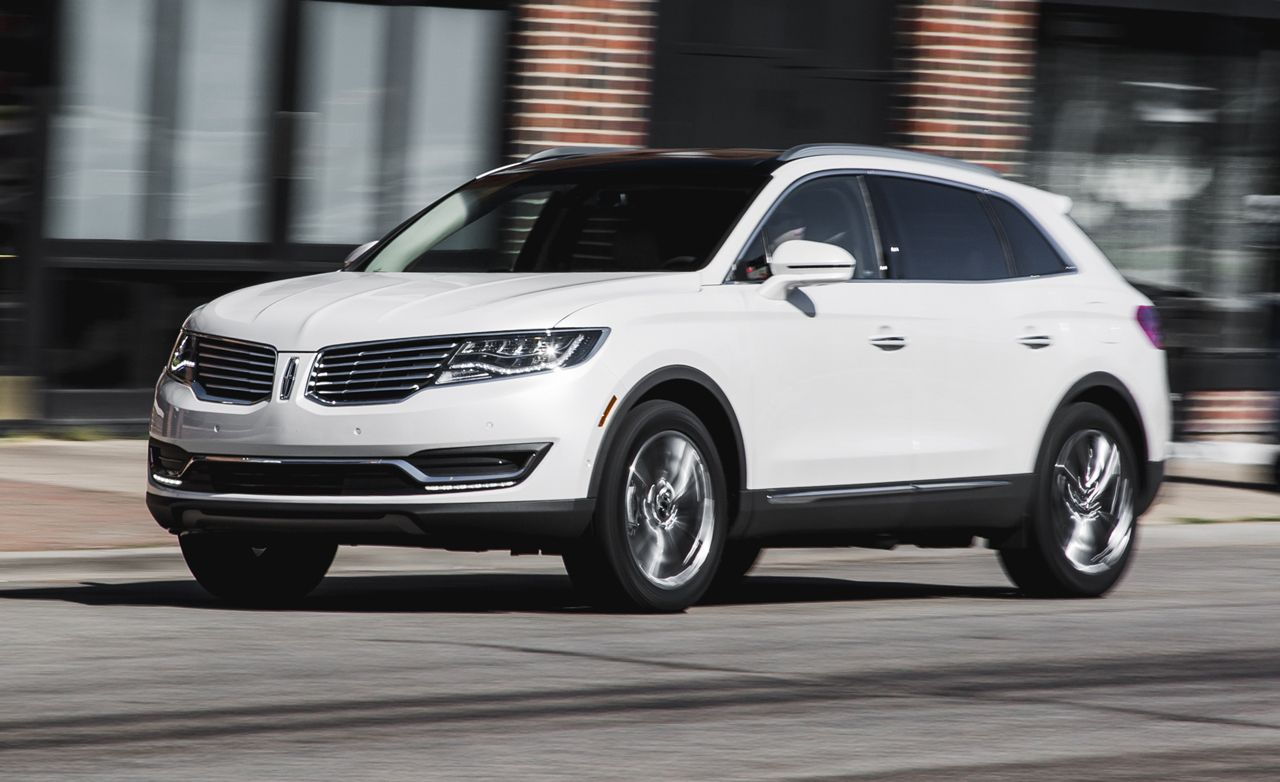 2016 Lincoln Mkx First Drive Review Car And Driver