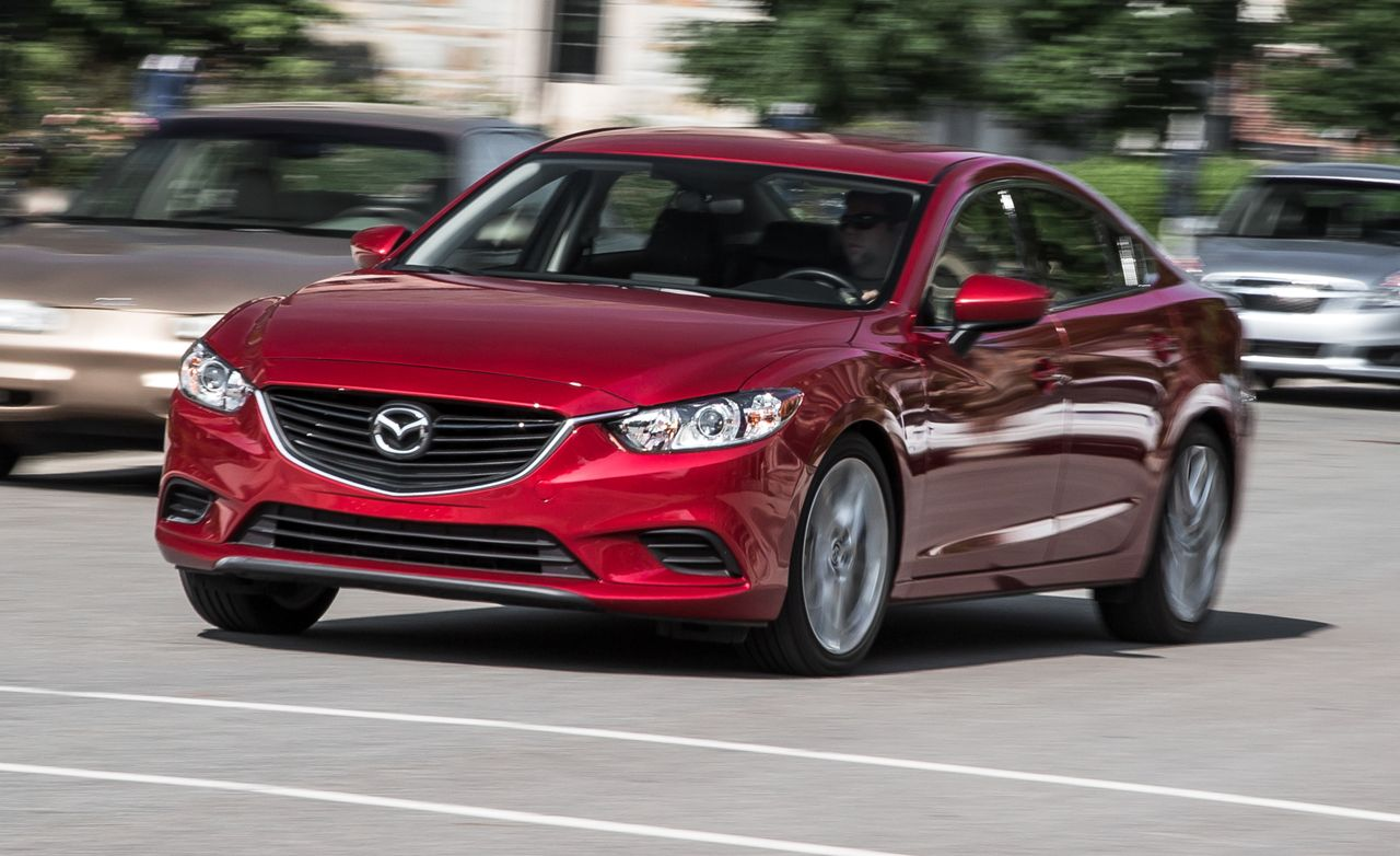 2016 Mazda 6 2 5L Manual First Drive Review