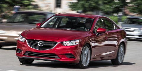 2016 Mazda 6 2 5l Manual