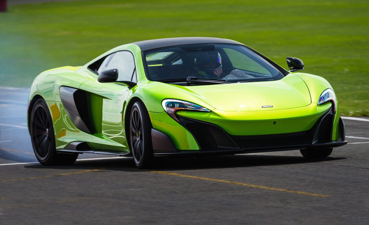 2016 Mclaren 675lt First Drive Review Car And Driver