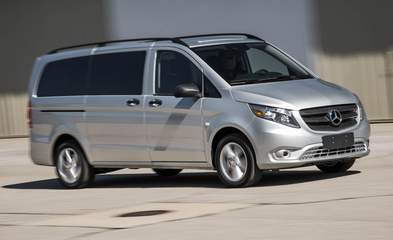 2016 mercedes benz metris passenger van test review for Mercedes benz van