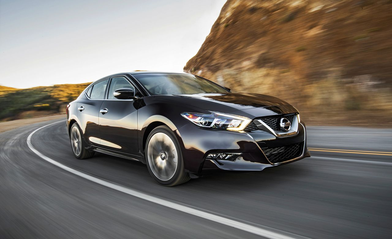 2016 Nissan Maxima Sr Instrumented Test Review Car And Driver
