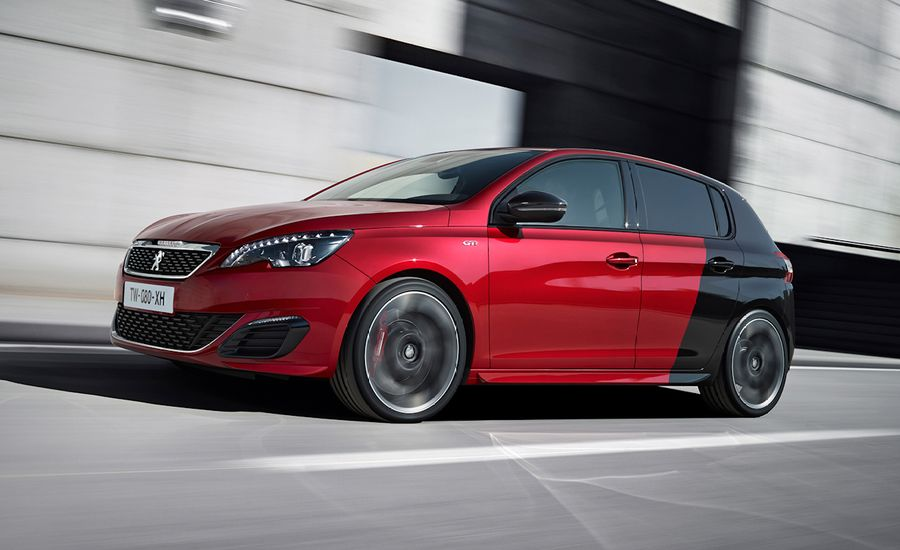 2016 peugeot 308 gti 270 first drive review car and driver. Black Bedroom Furniture Sets. Home Design Ideas