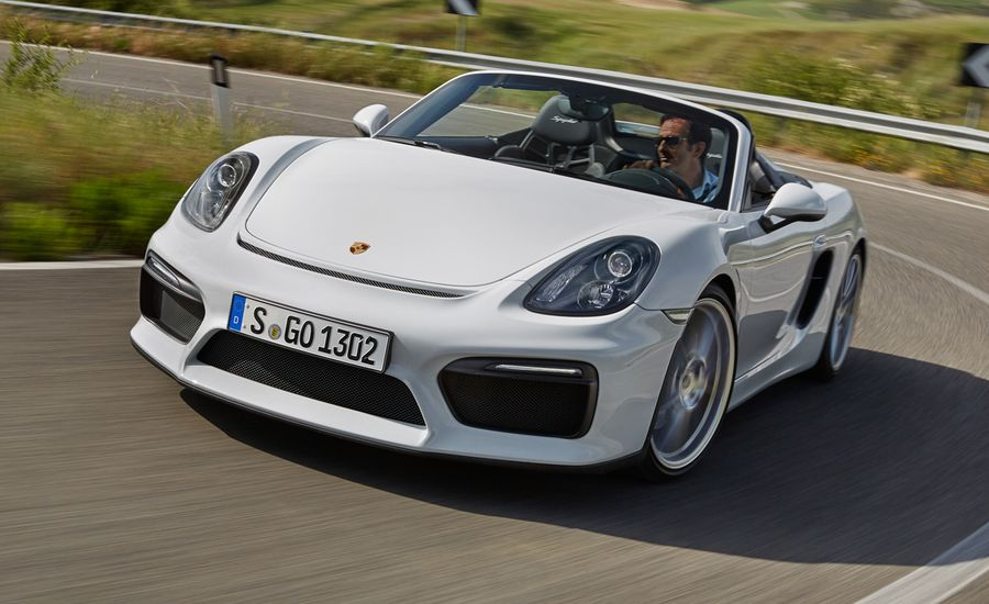 2016 Porsche Boxster Spyder First Drive Review Car And Driver