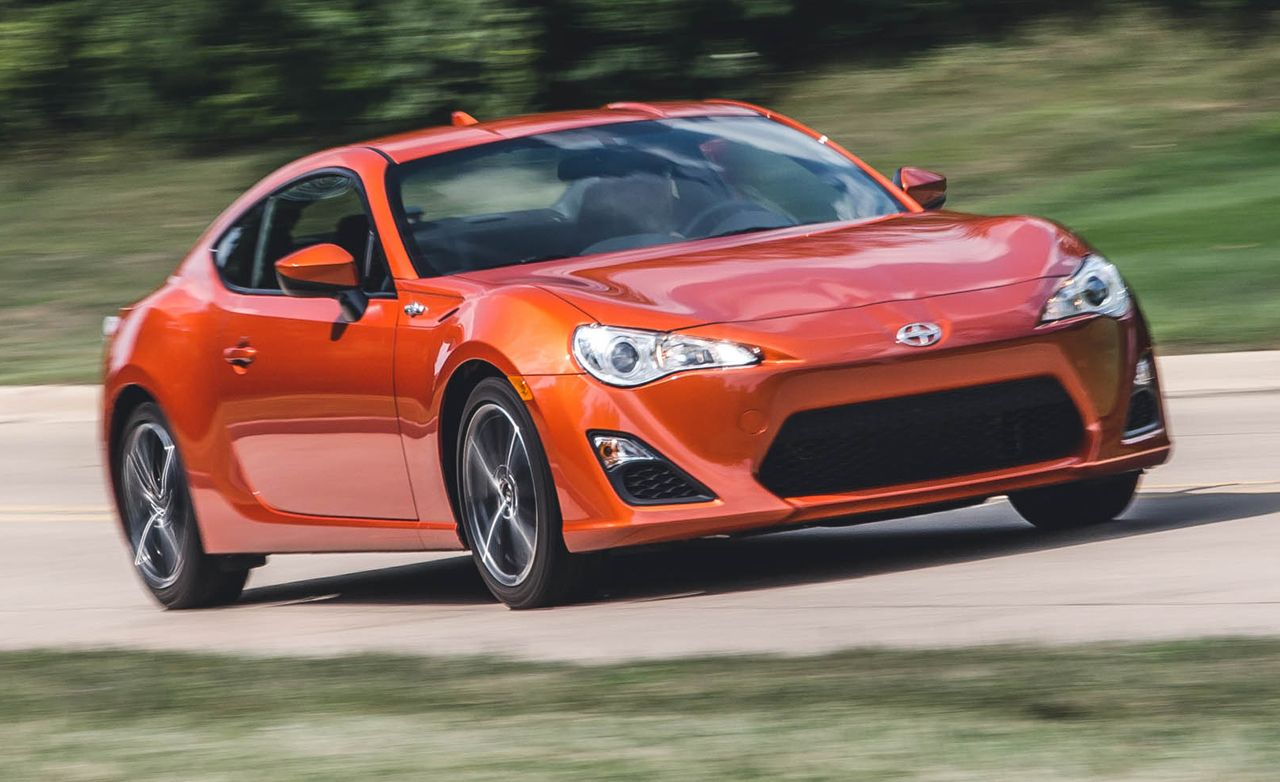 2016 Scion FR-S Manual