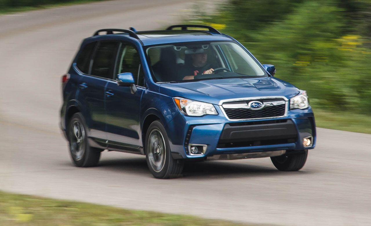 2016 subaru forester 2 0xt test review car and driver rh caranddriver com Forester Boats Inc Forester Boat's History