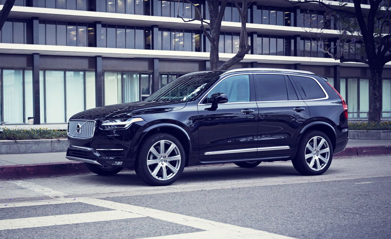 2016 volvo xc90 t6 awd inscription test review car and driver. Black Bedroom Furniture Sets. Home Design Ideas