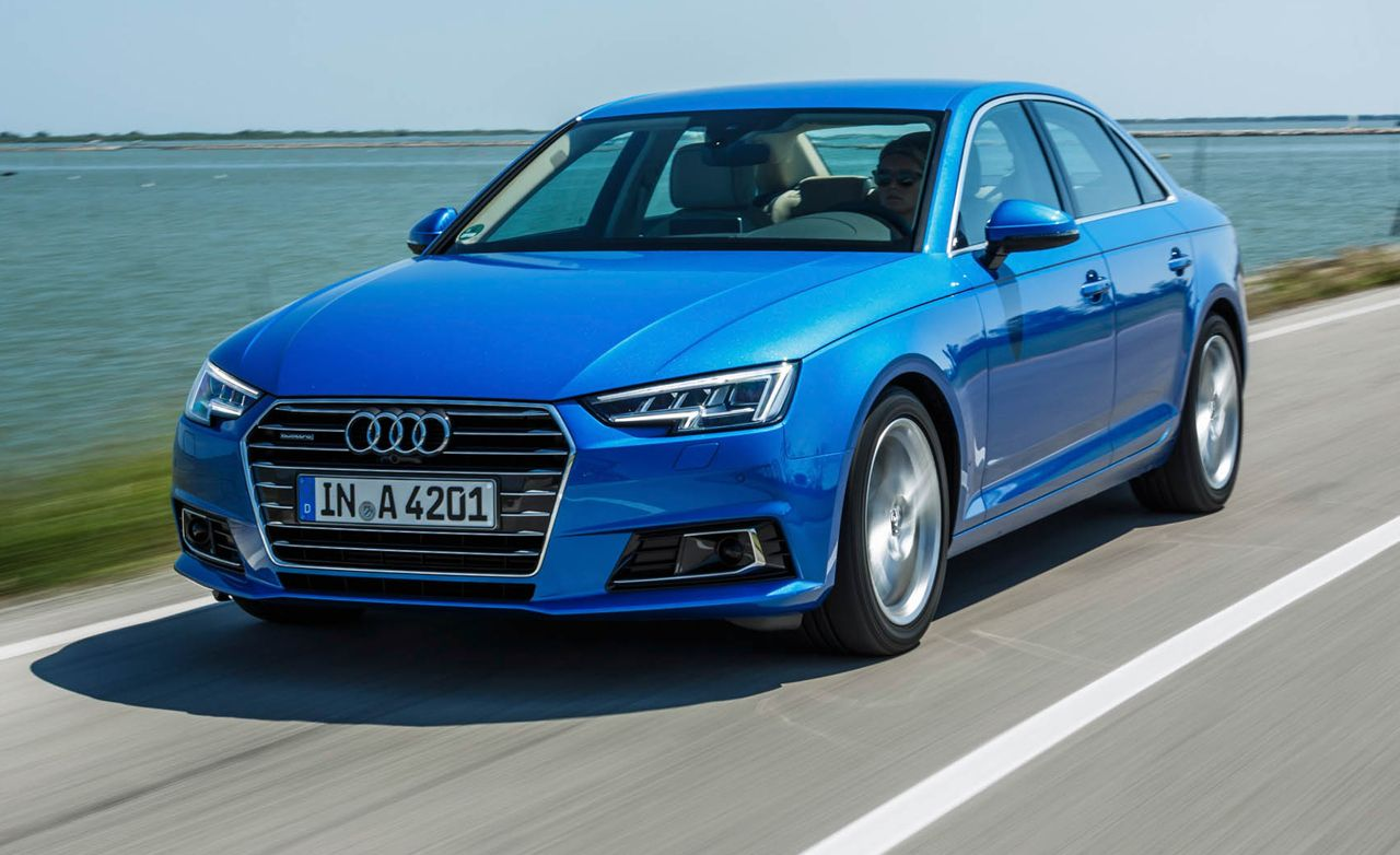 2017 Audi A4 First Drive Review Car And Driver
