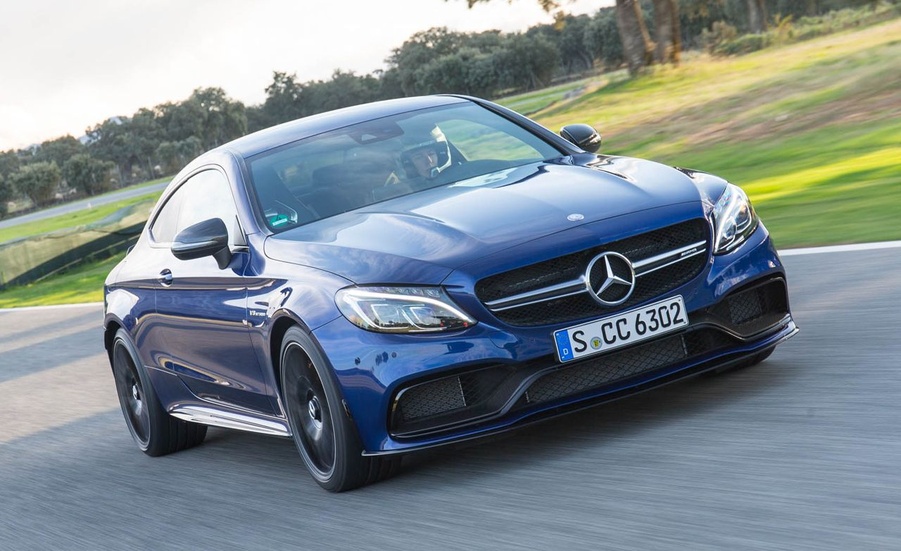 2017 Mercedes Amg C63 Coupe First Drive 8211 Review Car And Driver