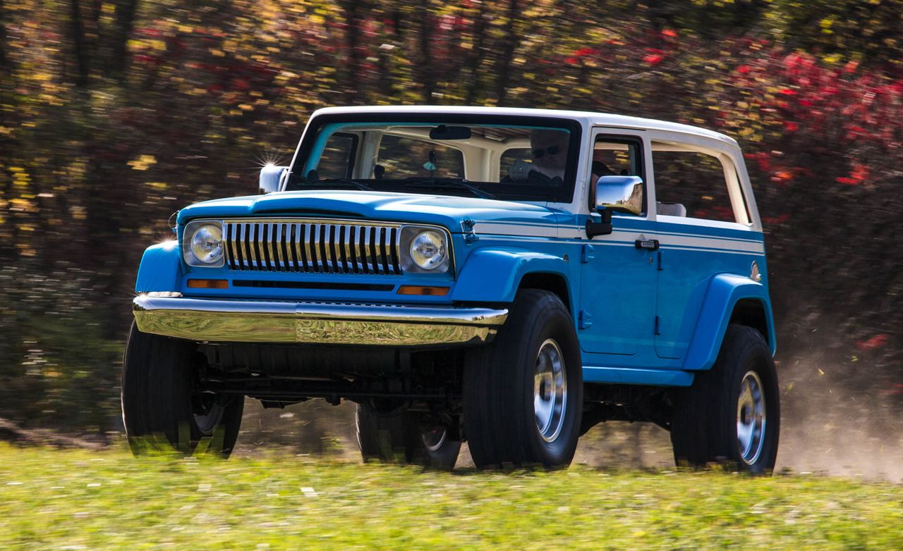 Jeep Chief Concept Driven Feature Car And Driver