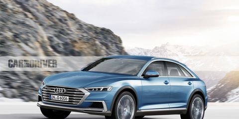 What It Is The Q6 A Four Door Cuv Closely Related To Next Generation Q5 Will Come Market With Alternative Trains Only Including Fully