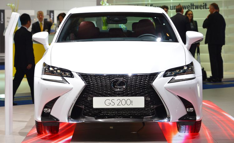 2016 Lexus GS: The GS Joins the Booster Club