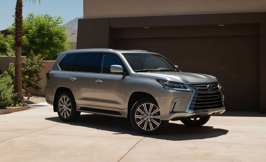 2016 Lexus LX570: A Raft of Changes for a Gargantuan SUV