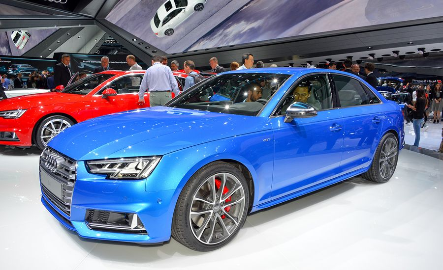 2017 audi s4 photos and info news car and driver