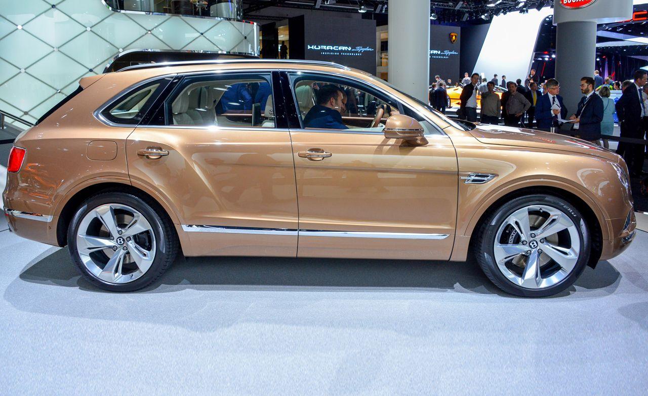 2017 Bentley Bentayga: Finally, Bentley's Ute Emerges