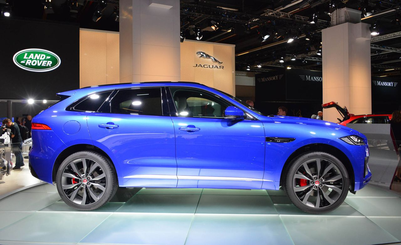 2017 Jaguar F-Pace Crossover: Better Late than Never