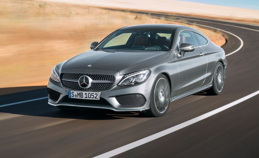 2017 Mercedes Benz C Class Coupe