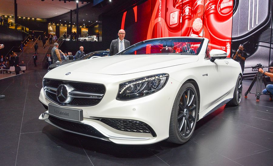 2017 Mercedes Benz S550 Amg S63 Cabriolet