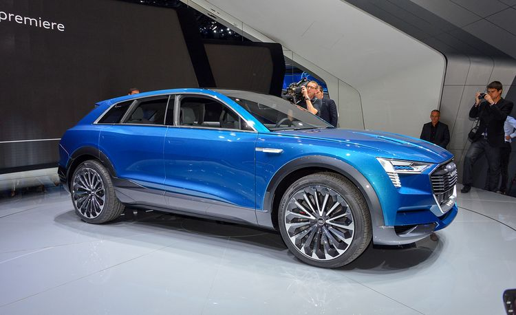 Audi e-tron Quattro Concept: This Is the Q6 Electric Crossover