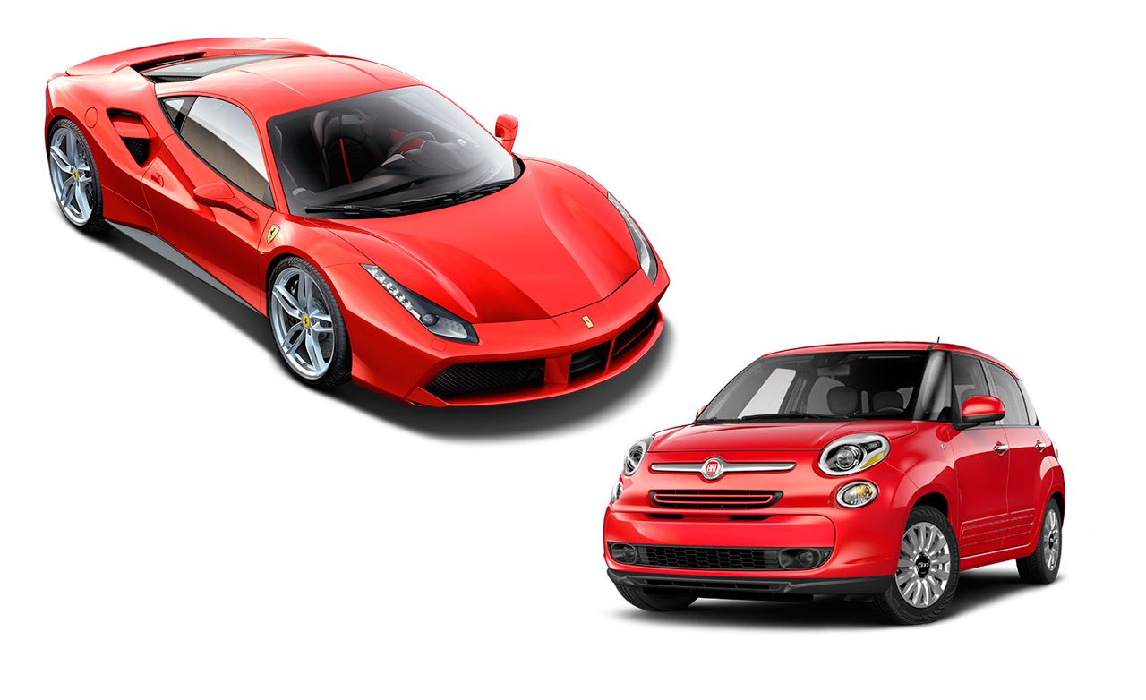 New Cars for 2016: Ferrari and Fiat