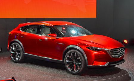 Mazda Koeru Concept Revealed, Could Preview CX-7 and CX-9