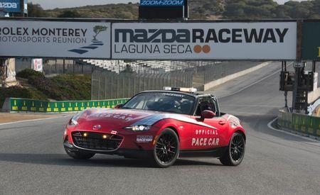 Mazda's 2016 MX-5 Miata Cup Car Laps Laguna Seca [Video]
