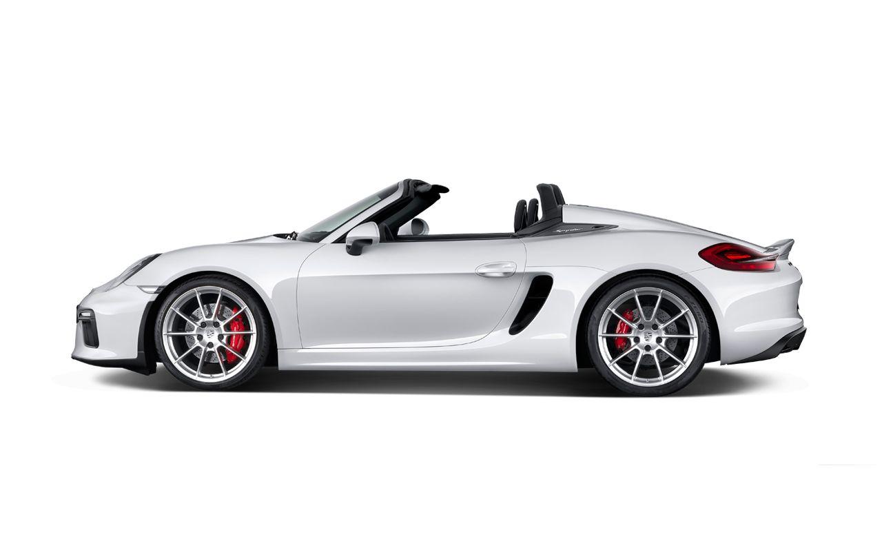 2016 Porsche Boxster Spyder Photo Gallery