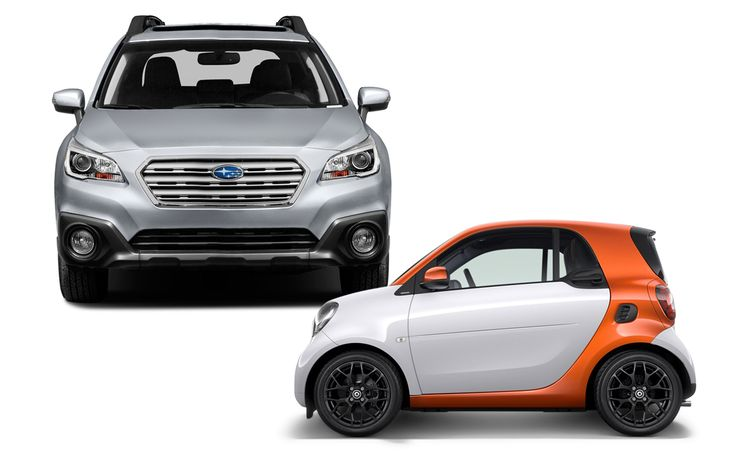 New Cars for 2016: Smart and Subaru