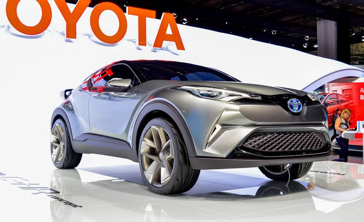 Toyota C-HR Concept: Previewing a Future Scion Crossover