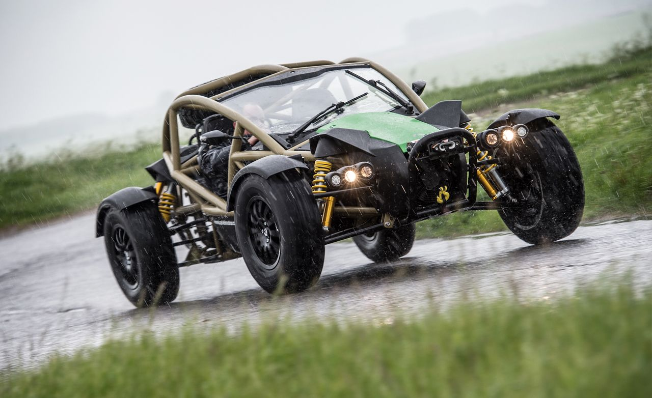 Mud Honey: Down and Dirty with the Ariel Nomad