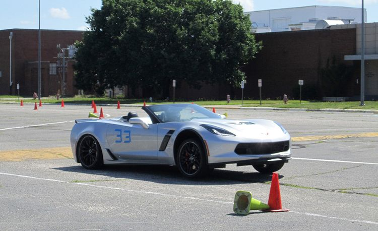 The New Corvette Z06 Is an Amazing Sports Car, but Is It Good at Autocrossing?
