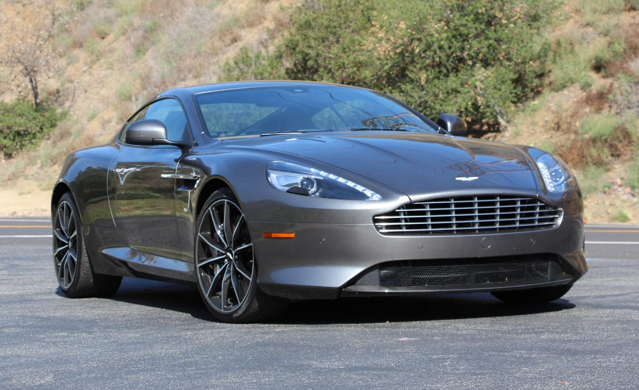 2016 Aston Martin Db9 Gt First Drive Review Car And Driver