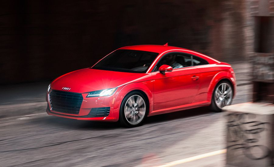 Audi TT Coupe Test Review Car And Driver - Audi tt