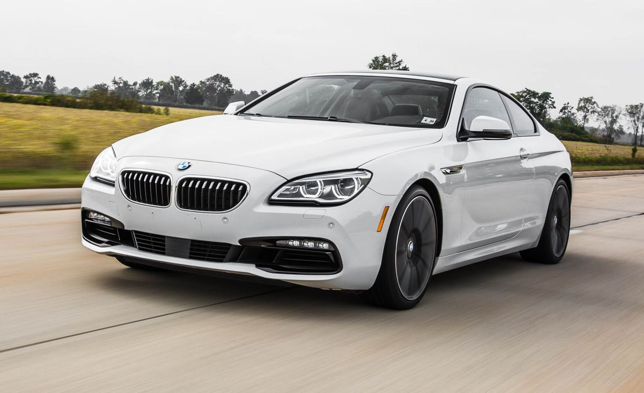 2016 Bmw 650i Test Review Car And Driver