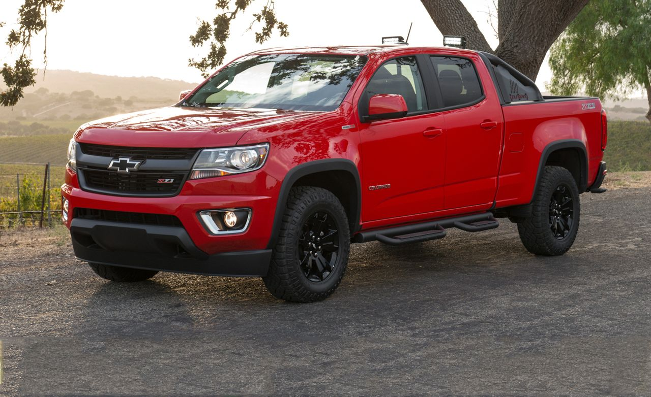 2016 Chevrolet Colorado Sel First Drive 8211 Review Car And Driver