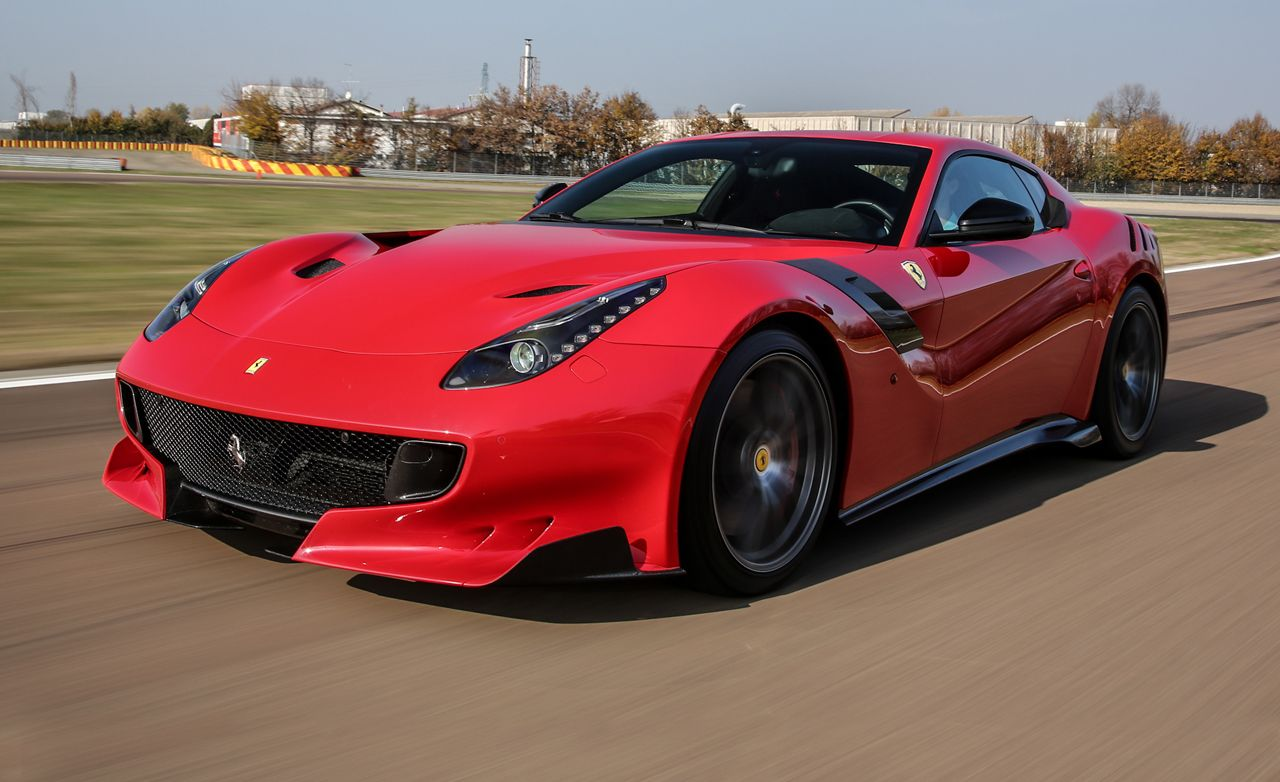 2016 Ferrari F12tdf First Drive Review Car And Driver